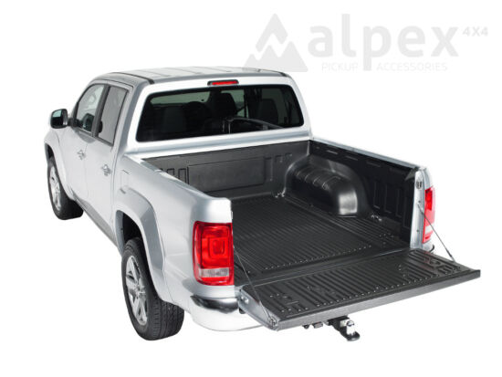 PRO-FORM Bed Liner - under rail - to fit with OE cargo hooks - Volkswagen D/C 2010-