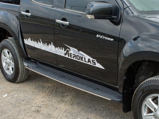 Aeroklas Side Step - Toyota D/C 2015-