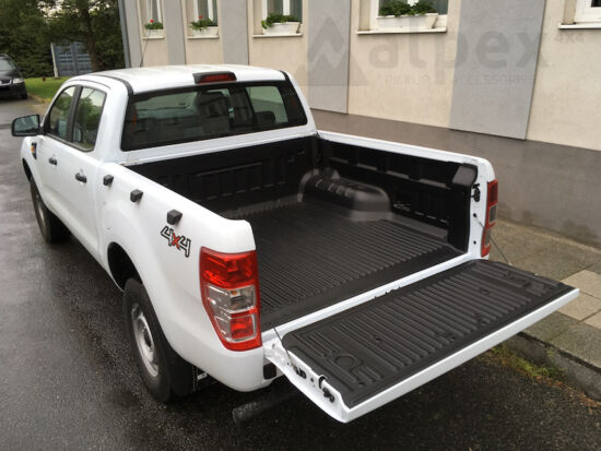 PRO-FORM Bed Liner - under rail - to fit with OE cargo hooks - Ford E/C 2011-
