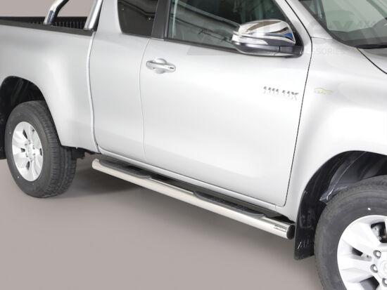Misutonida csőküszöb - műanyag betéttel, 76 mm - Toyota Hilux E/C 16-