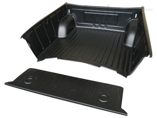 PRO-FORM Bed Liner - over rail - to fit with OE cargo hooks - Mitsubishi D/C 2005-2009