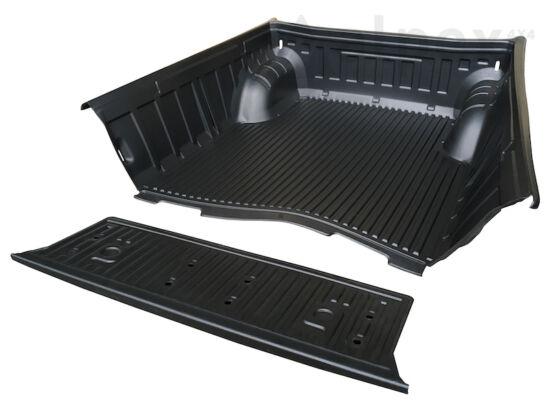 PRO-FORM platóbélés - peremes - gyári csomagrögzítőhöz - Mitsubishi D/C 2009-2015