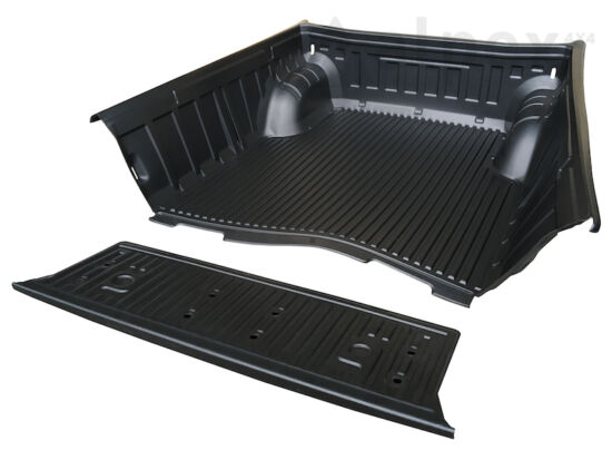 PRO-FORM Bed Liner - over rail - to fit with OE cargo hooks - Mitsubishi D/C 2009-2015