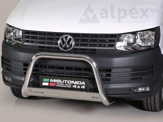 Misutonida EU gallytörő rács, 63 mm - Volkswagen Transporter T6 15-