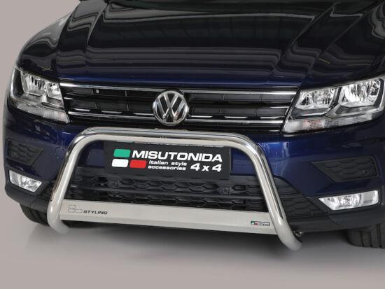 Misutonida EU gallytörő rács, 63 mm - Volkswagen Tiguan 16-