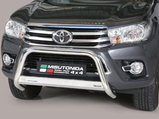 Misutonida EU gallytörő rács, 63 mm - Toyota Hilux 16-