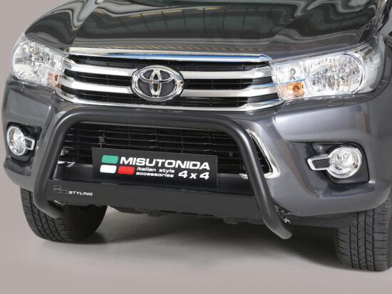 Misutonida EU gallytörő rács, 63 mm - fekete - Toyota Hilux 16-
