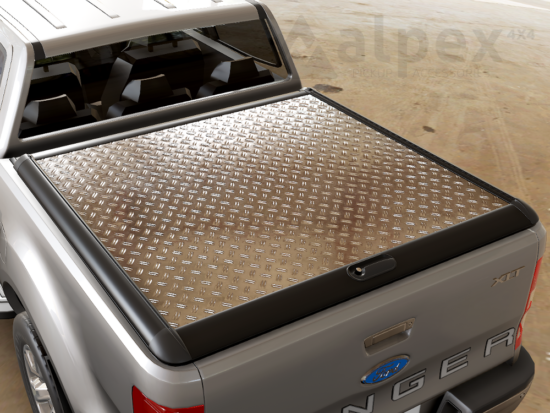 Mountain Top Style Aluminium Cover - Ford D/C 2012-