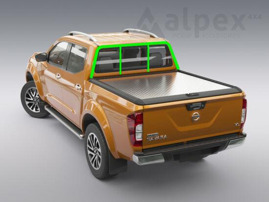 Mountain Top Style Alu-Abdeckung - mit Heckschutzgitter kompatibel - Nissan E/C 2015-
