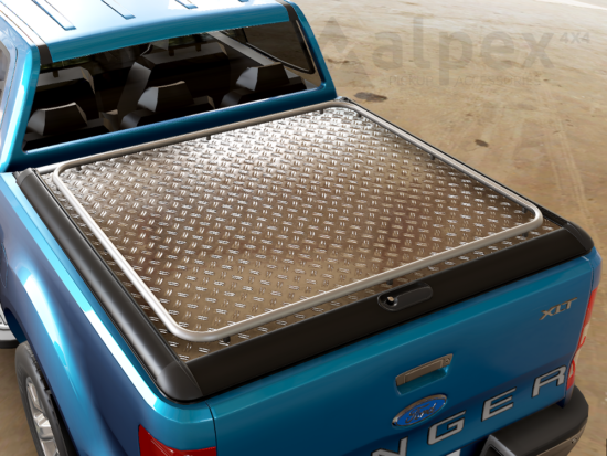 Mountain Top Heavy Duty+ Aluminium Cover - Ssangyong Musso 2018-