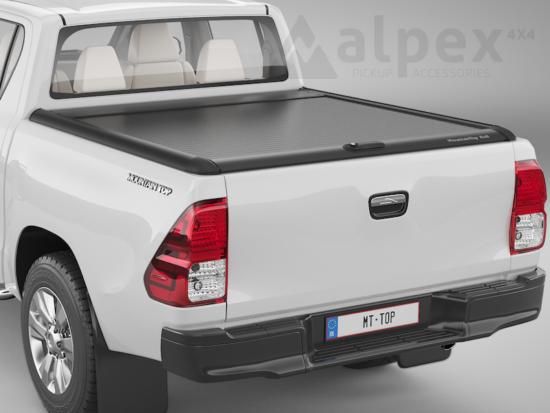 Mountain Top Alu-Rollo - schwarz - Toyota E/C 2015-