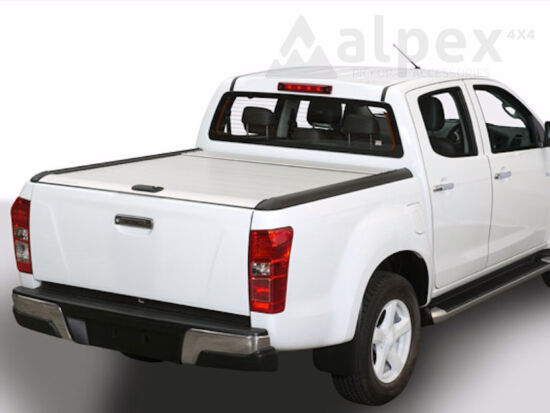Mountain Top Alu-Rollo - silber - Isuzu D/C 2012-