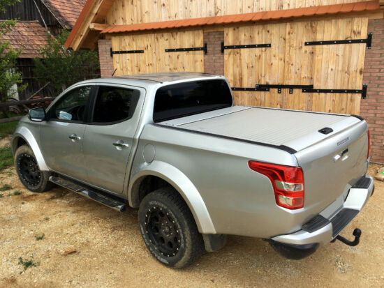 Mountain Top Roll Cover - silver - Mitsubishi/Fiat D/C 2015-