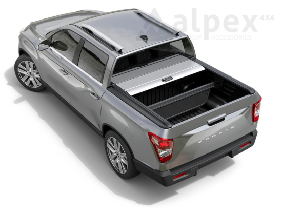 Mountain Top Roll Cover - silver - Ssangyong Musso 2018-