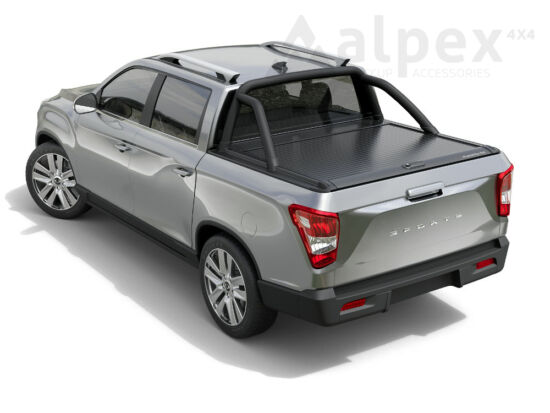 Mountain Top Roll Cover - black - Ssangyong Musso 2018-