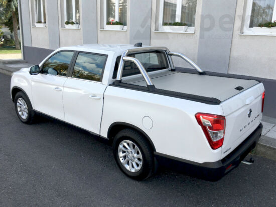 Mountain Top MTR Roll Cover - silver - Ssangyong Musso Grand 2018-