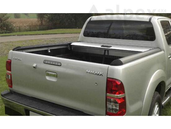 Mountain Top Roll Cover - silver - Toyota D/C 2005-2016