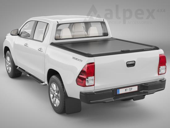 Mountain Top Alu-Rollo - schwarz - Toyota D/C 2015-