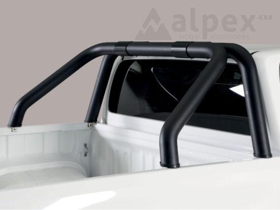 Misutonida bukócső - design csővel, 76 mm - fekete - Toyota Hilux 16-