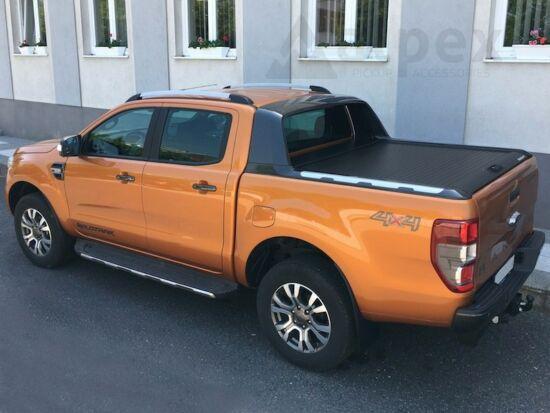 Ranger Wildtrak, Mountain Top Alu-Rollo - schwarz - Ford D/C 2012-