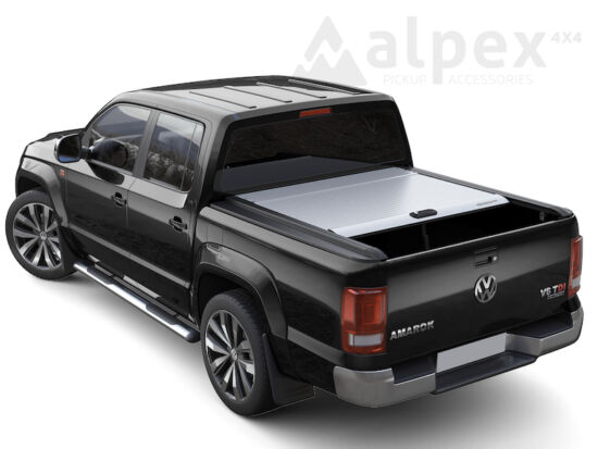 Mountain Top Roll Cover for original styling bar - silver - Volkswagen D/C 2010-