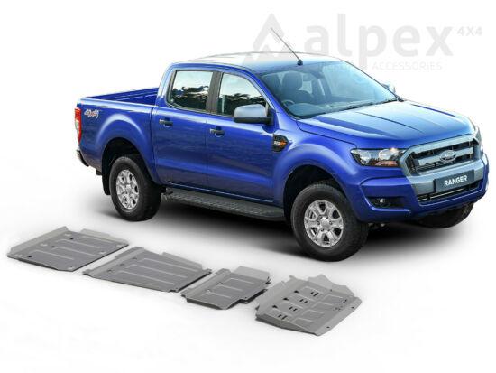 Rival Haspáncél szett, 4mm alumínium - Ford Ranger 2012-