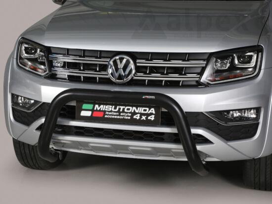 Misutonida EU gallytörő rács, 76 mm - fekete - Volkswagen Amarok 10-