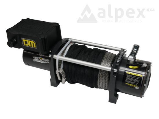 TJM Prime Csörlő 9500LB - szintetikus kötél