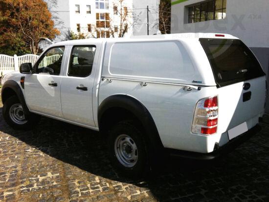 Aeroklas Commercial felépítmény - oldalüveg nélkül - 18G ezüst - Ford D/C 2006-2012