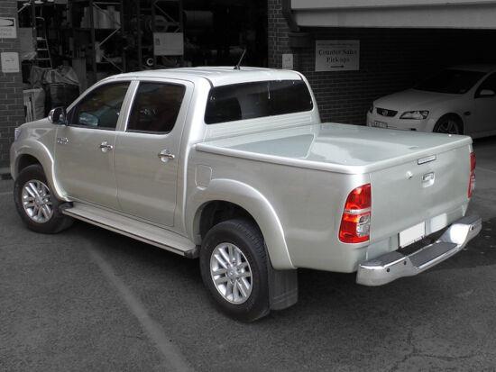 Aeroklas LID hard cover - primer (unpainted) - Ford/Mazda D/C 2006-2012