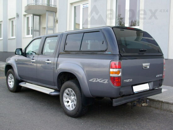 Aeroklas Stylish Hardtop - seitliche Schiebefenster - 37P bronze - Ford D/C 2006-2012