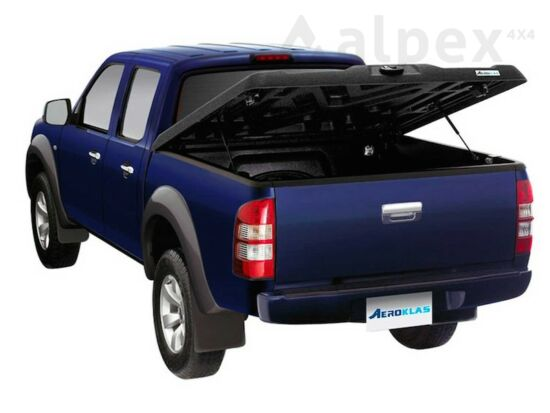 Aeroklas Speed hard cover - black, grain surface - Ford/Mazda D/C 2006-2012