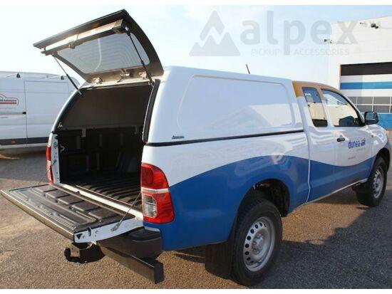 Aeroklas Commercial felépítmény - oldalüveg nélkül - A7B piros - Ford E/C 06-12