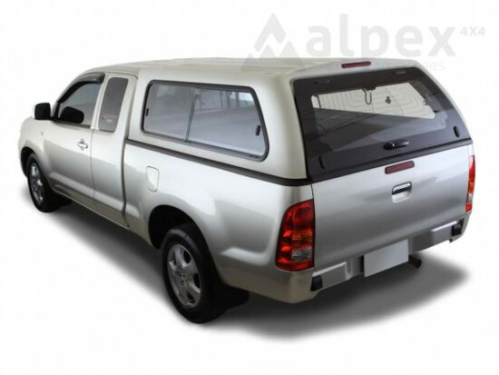 Aeroklas Stylish hardtop - sliding side window - 18G silver - Ford E/C 2006-2012