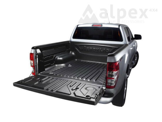 Aeroklas Bed Liner - over rail - to fit with OE cargo hooks - Ford D/C 2012-