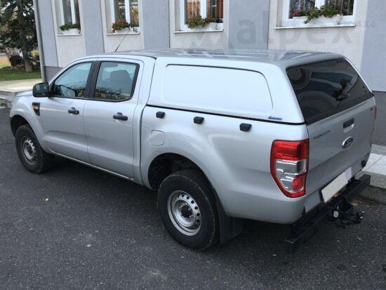 Aeroklas Commercial felépítmény - oldalüveg nélkül - központi záras - PNZAT shadow black - Ford D/C 2012-