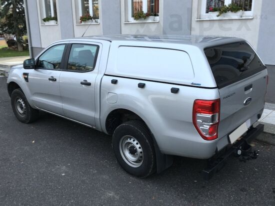 Aeroklas Commercial Hardtop - Zentralverriegelung - PNJAB panther schwarz - Ford D/C 2012-