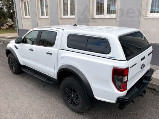 Aeroklas Stylish hardtop - sliding side window - central locking - PNUPN oyster silver - Ford D/C 2012-