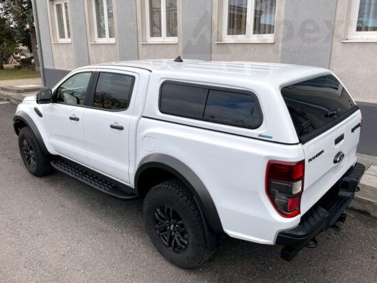 Aeroklas Stylish Hardtop - seitliche Schiebefenster - Zentralverriegelung - 7FD mystik grau - Ford Ranger Raptor