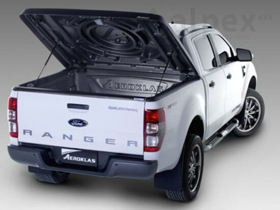 Aeroklas Speed hard cover - black, grain surface - Ford D/C 2012-