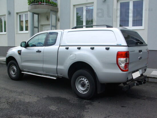 Aeroklas Commercial Hardtop - Zentralverriegelung - PNJAB panther schwarz - Ford E/C 2012-