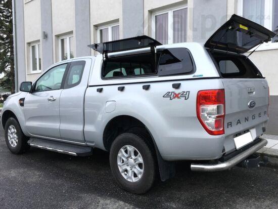 Aeroklas Stylish hardtop - pop-up side window - central locking - PNZJB moondust silver - Ford E/C 12-