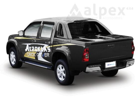Aeroklas Full Box platófedél - alapozott - Isuzu D/C 2002-2012