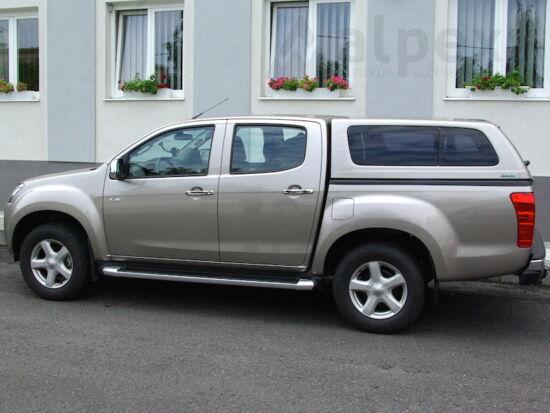 Aeroklas Stylish hardtop - pop-out side window - central locking - 530 mineral grey - Isuzu D/C 2012-2020