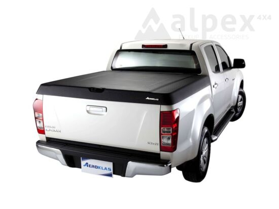 Aeroklas Speed hard cover - black, grain surface - Isuzu D/C 2012-