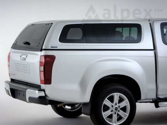 Aeroklas Stylish hardtop - pop-out side window - central locking - 527 splash white - Isuzu E/C 2012-