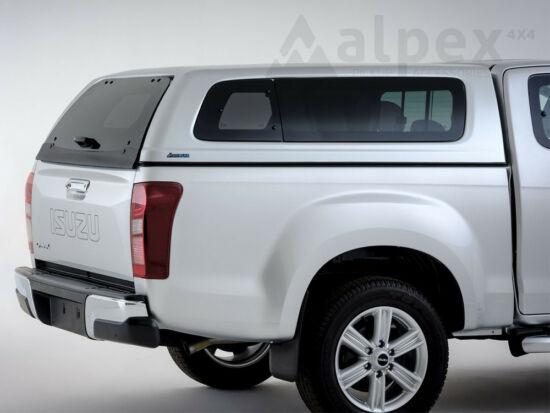 Aeroklas Stylish hardtop - pop-out side window - central locking - 530 mineral grey - Isuzu E/C 2012-