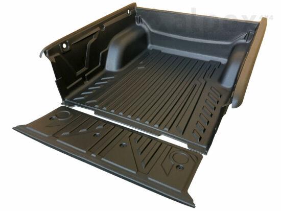 Aeroklas Bed Liner - over rail - 4x metal cargo hooks - Mitsubishi D/C 2019-