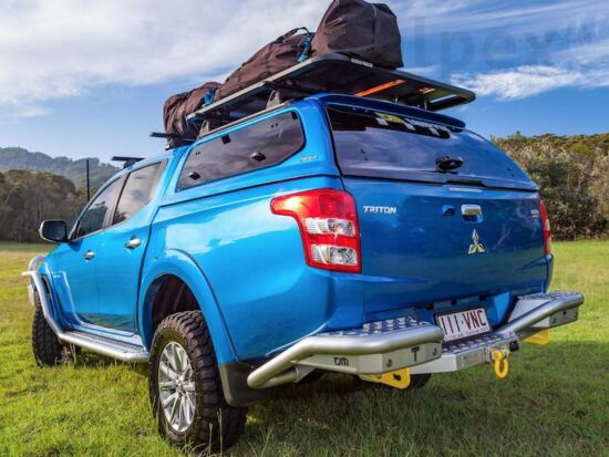 Aeroklas Stylish hardtop - pop-up side window - D23/463 blue - Mitsubishi/Fiat D/C 2015-