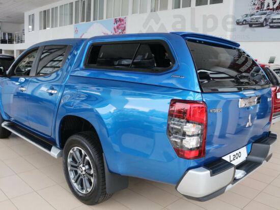 Aeroklas Stylish hardtop - sliding side window - D23/463 blue - Mitsubishi/Fiat D/C 2015-